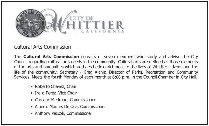 whittier-arts